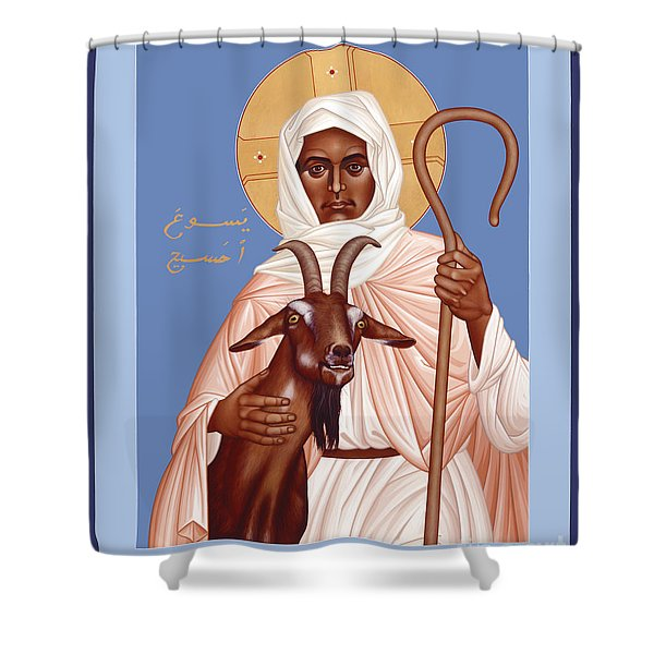 The Good Shepherd - Rlgos Shower Curtain