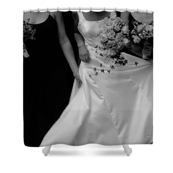 The Gown Shower Curtain