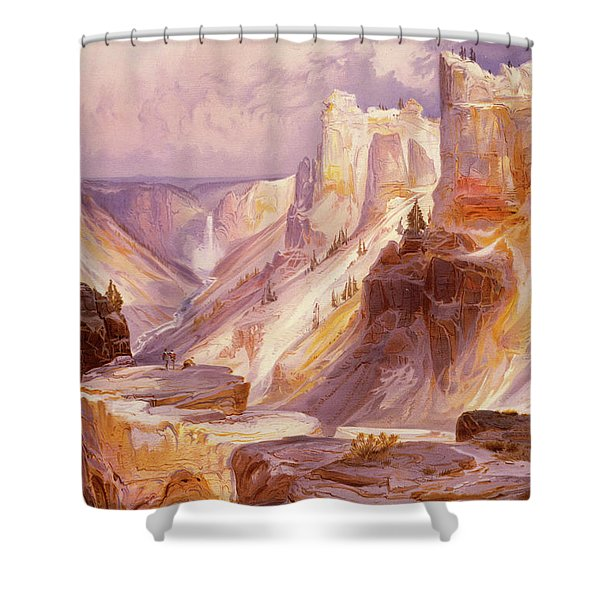 The Grand Canyon, Yellowstone Shower Curtain