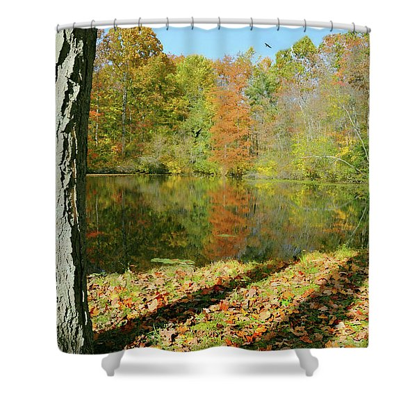 Grand Father Shower Curtain