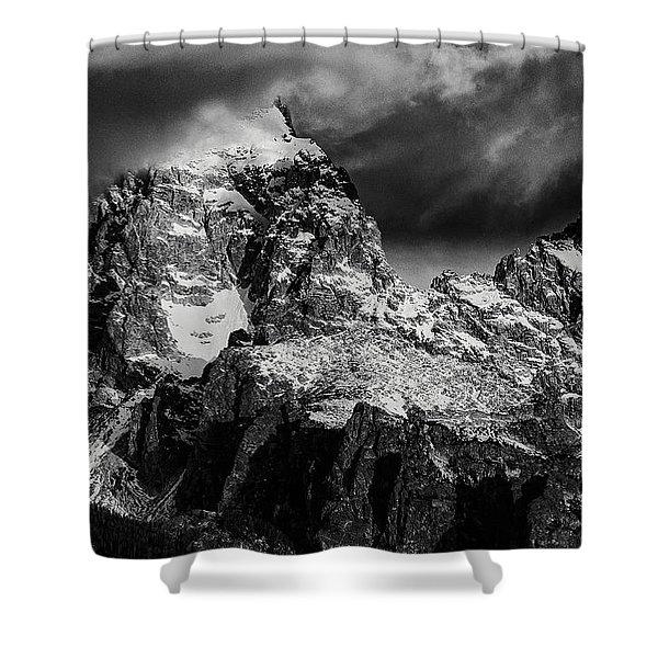 The Grand Teton Shower Curtain