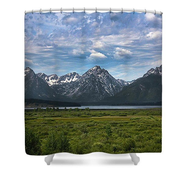 The Grand Tetons Shower Curtain