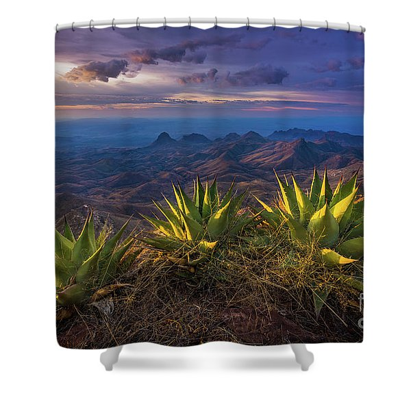 Great Wide Open Texas Shower Curtain