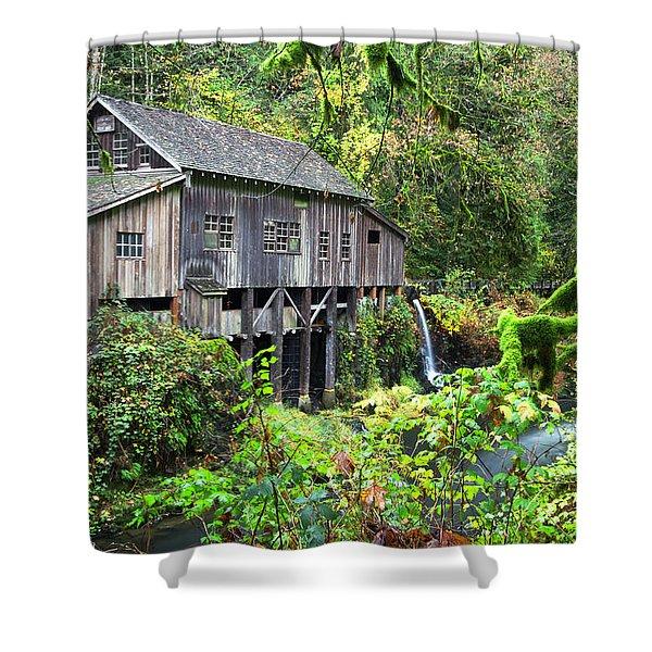 The Grist Mill, Amboy Washington Shower Curtain