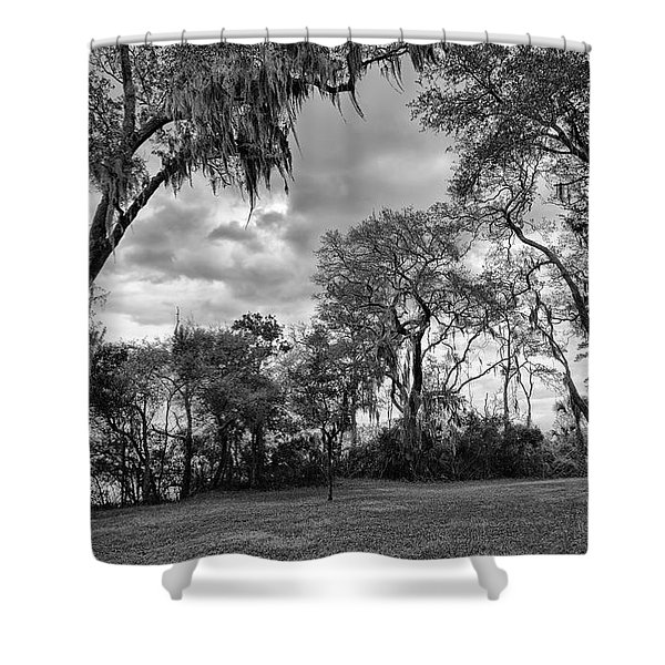 The Grounds Of Fort Caroline National Memorial Shower Curtain