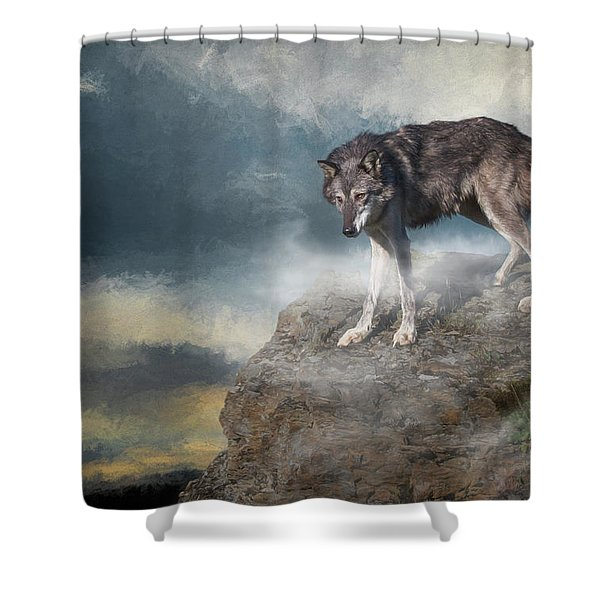 The Guardian Shower Curtain