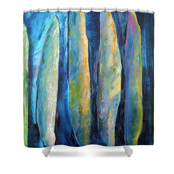 The Guardians Shower Curtain