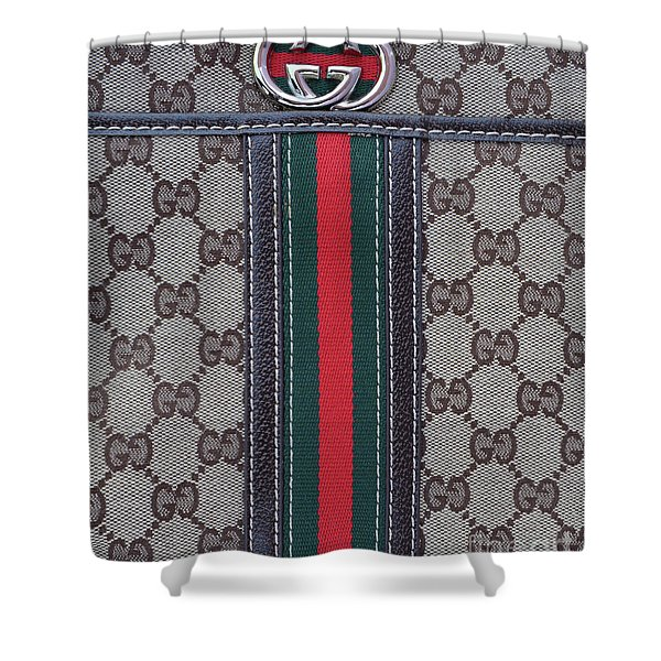 The Gucci Monograms Shower Curtain