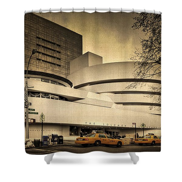 The Guggenheim Shower Curtain