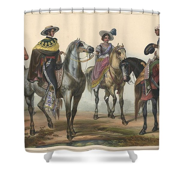 The Hacendero And His Butler Shower Curtain