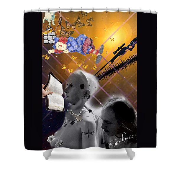 The Handler And The Slave Shower Curtain