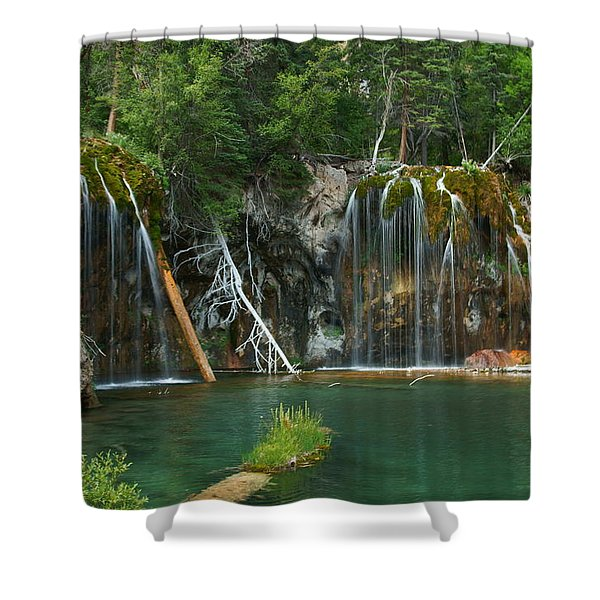 The Hanging Lake Shower Curtain