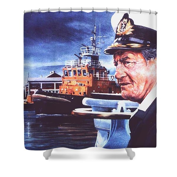 The Harbourmaster Shower Curtain