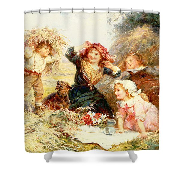 The Haymakers Shower Curtain