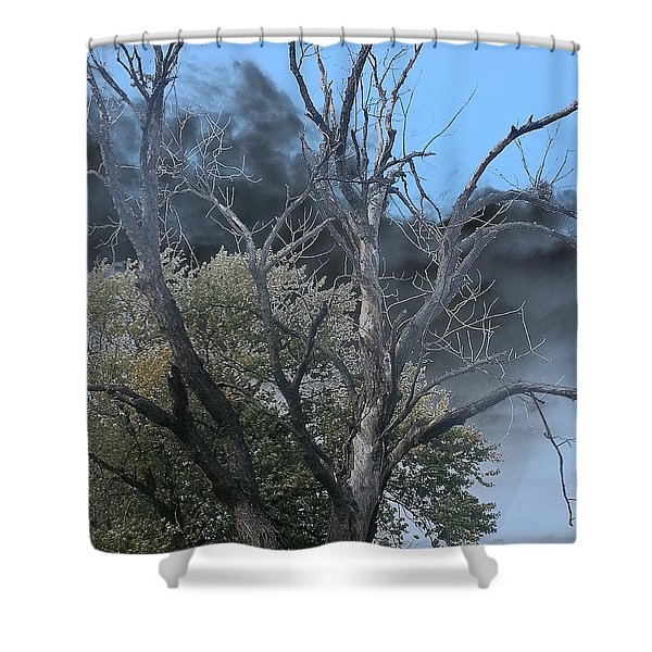 The Height Of Rodomontade Shower Curtain