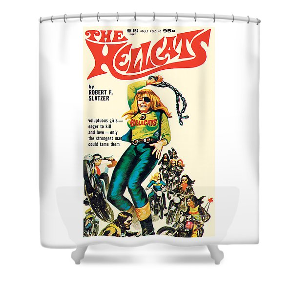 The Hellcats Shower Curtain