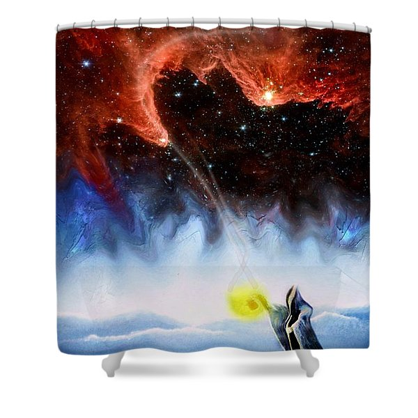 The Hermit's Path Shower Curtain