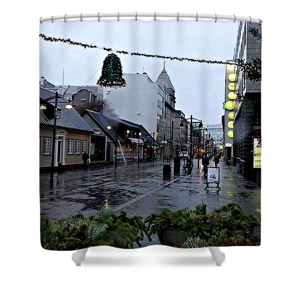 The High Street Shower Curtain