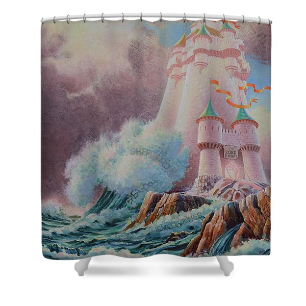 The High Tower Shower Curtain