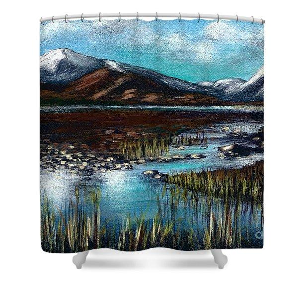 The Highlands - Scotland Shower Curtain