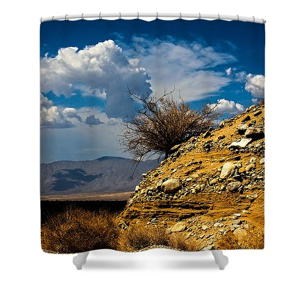 Shower Curtain featuring the photograph The Hilltop by Break The Silhouette