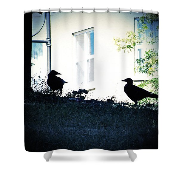 The Hitchcock Moment Shower Curtain