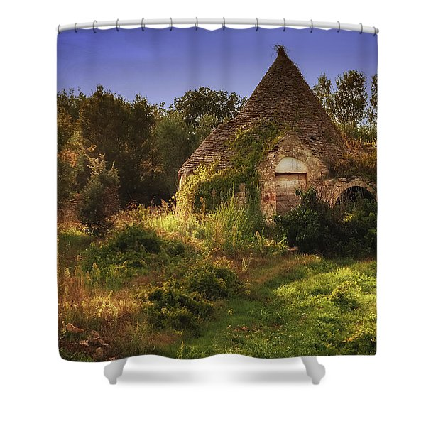 The Hobbit House Shower Curtain
