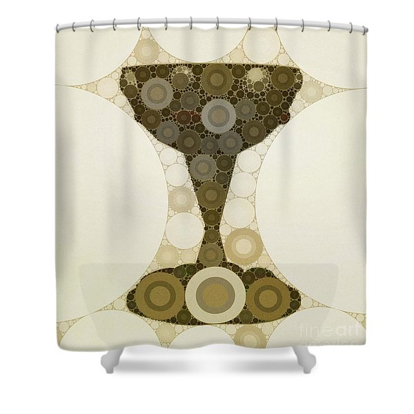 The Holy Grail By Mb Shower Curtain