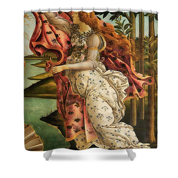 The Hora Of Spring Shower Curtain