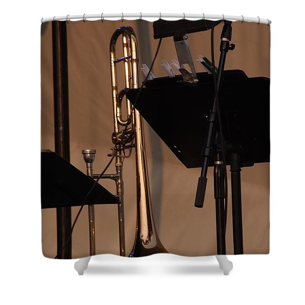 The Horn Shower Curtain