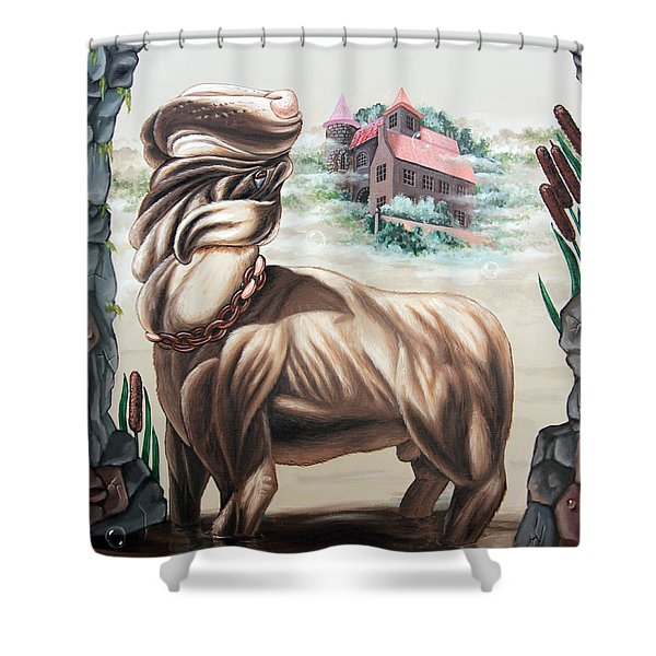The Hound Of The Baskervilles Shower Curtain