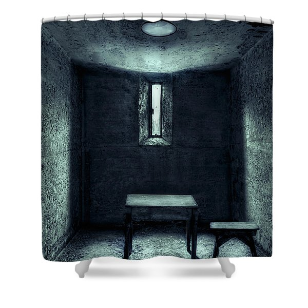 The House Of A Locked Mind Shower Curtain