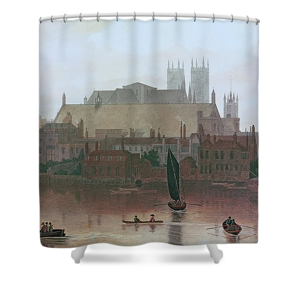 The Houses Of Parliament Shower Curtain