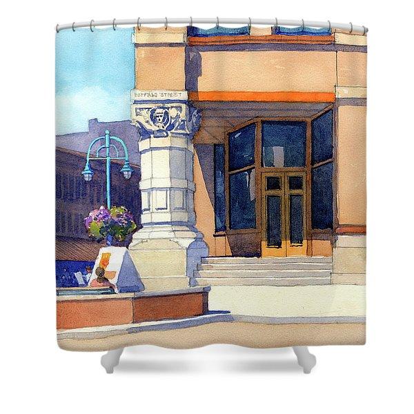 The Hudson Shower Curtain