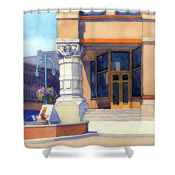 The Hudson Shower Curtain