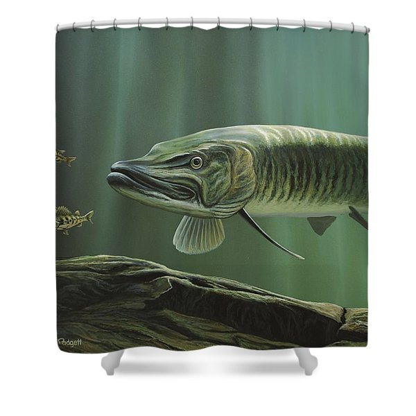 The Hunter - Musky Shower Curtain