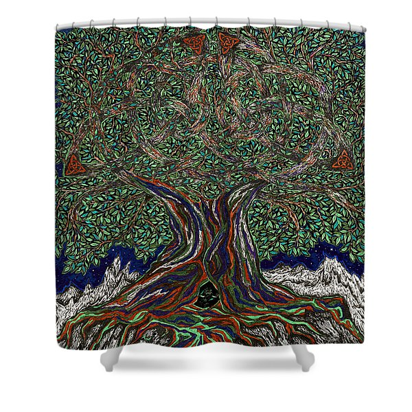 The Hunter's Lair Shower Curtain