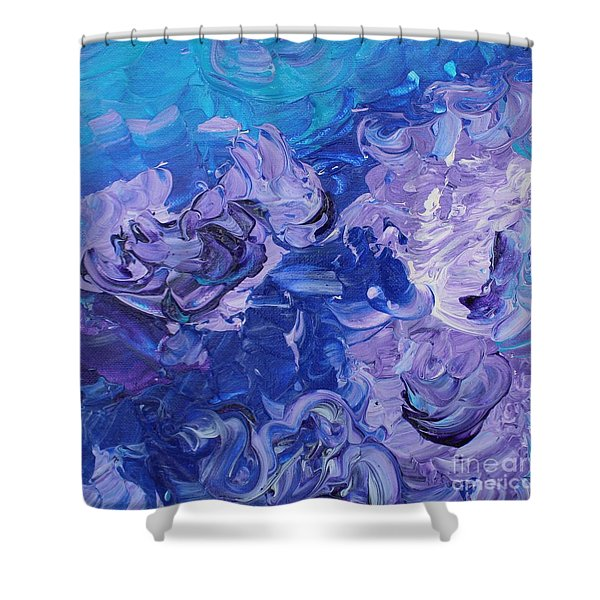 The Invisible Woman Shower Curtain