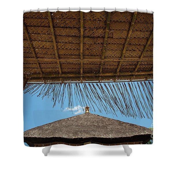 The Island Of God #6 Shower Curtain