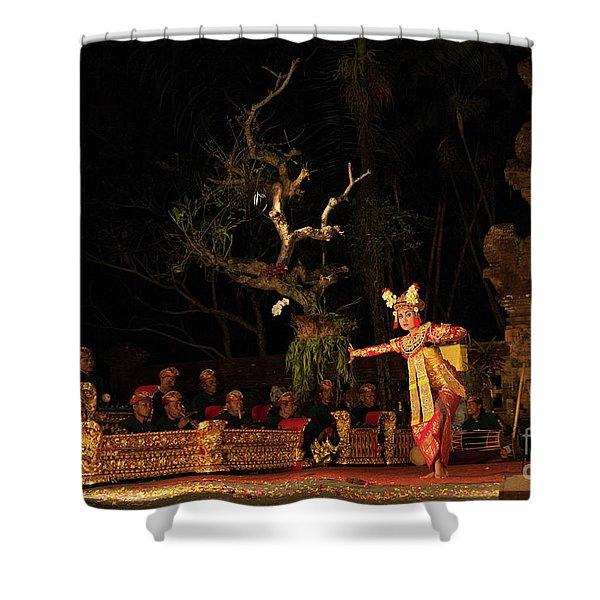 The Island Of God #8 Shower Curtain