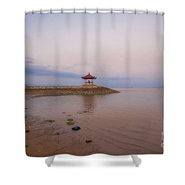 The Island Of God #9 Shower Curtain