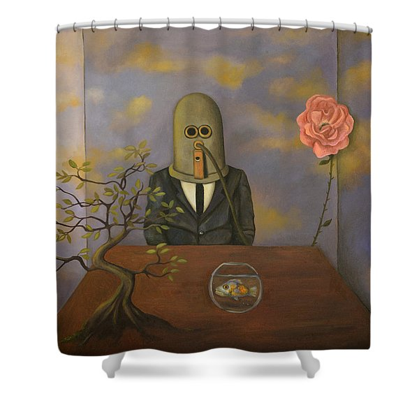 The Isolator Shower Curtain