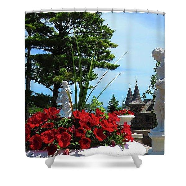 The Italian Garden Shower Curtain