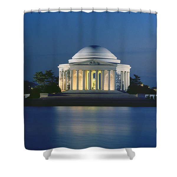 The Jefferson Memorial Shower Curtain