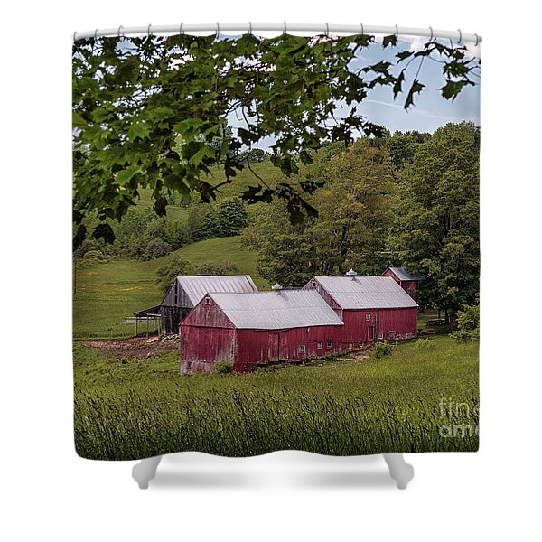 The Jenne Farm II Shower Curtain