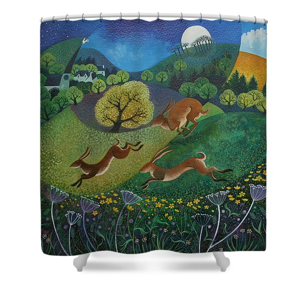 The Joy Of Spring Shower Curtain