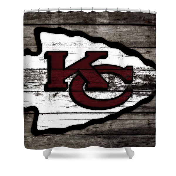 The Kansas City Chiefs 3i   Shower Curtain