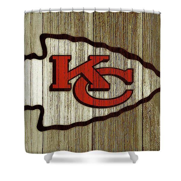 The Kansas City Chiefs C2 Shower Curtain