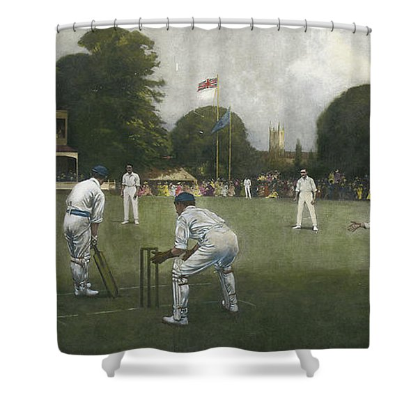 The Kent Eleven Champions, 1906 Shower Curtain