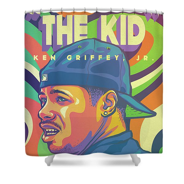 The Kid Shower Curtain